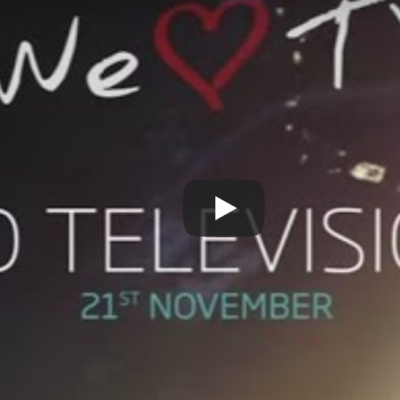 We love TV – World television day 2016