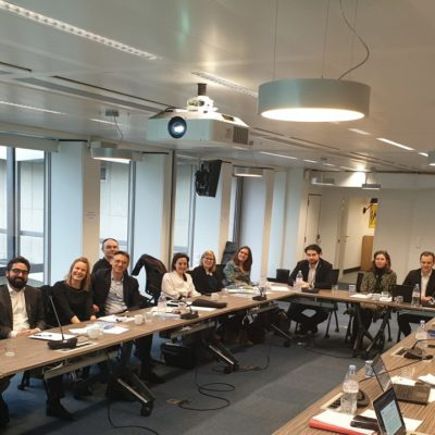 ACT Board meeting with the EBU's Legal and Policy Committee