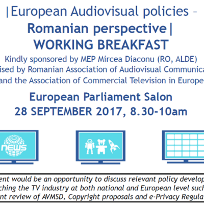 ACT and ARCA breakfast with Romanian Members of European Parliament