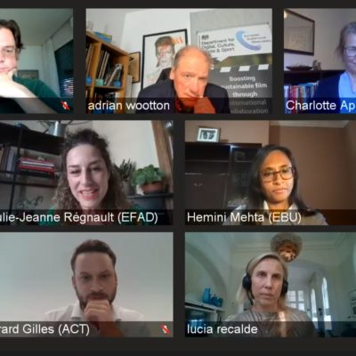 ACT speaks at the online conference on 'Boosting sustainable film through international collaboration'